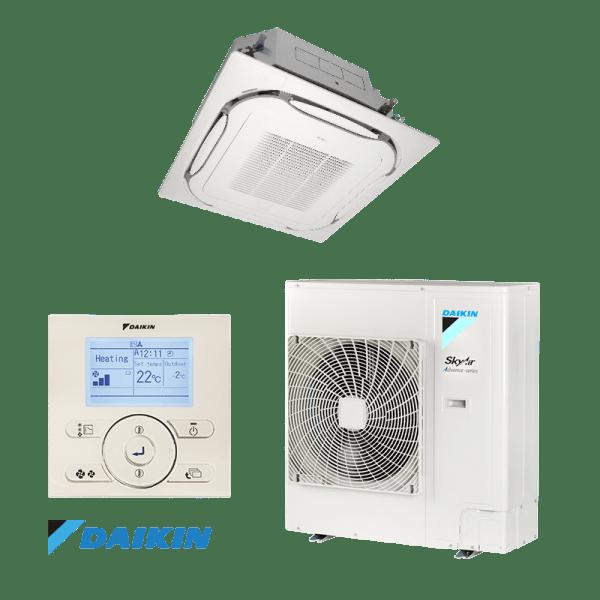 Касетъчен климатик Daikin FCAG100A / RZASG100MV1