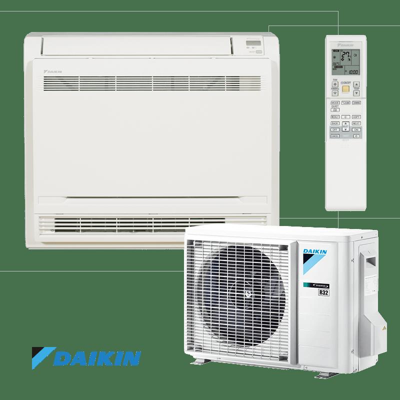 Инверторен климатик Daikin Professional FVXM25F / RXM25M9 - подово тяло
