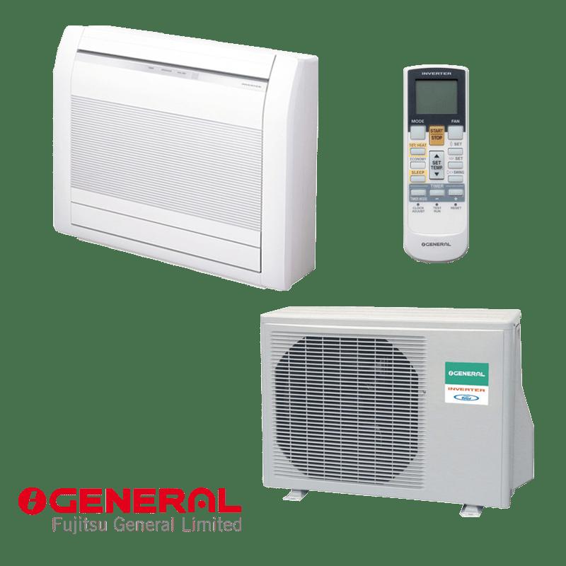 Инверторен климатик Fujitsu General AGHG14LVCA / AOHG14LVLA - подово тяло