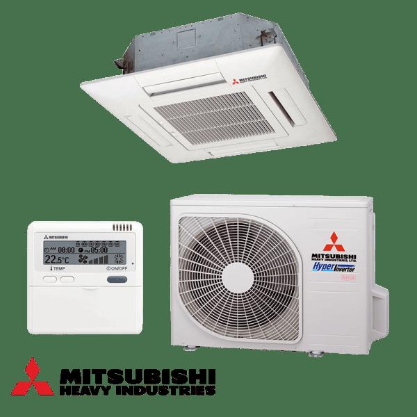 Касетъчен климатик Mitsubishi Heavy Industries FDTC25VF / SRC25ZMX-S