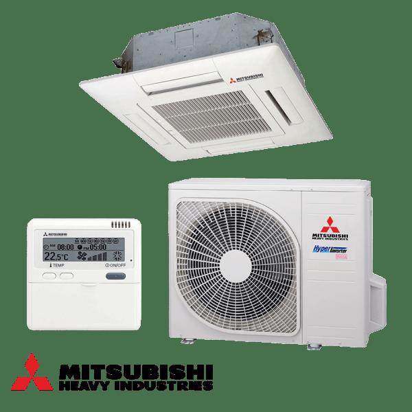Касетъчен климатик Mitsubishi Heavy Industries FDTC40VF / SRC40ZMX-S