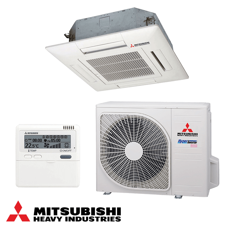 Касетъчен климатик Mitsubishi Heavy Industries FDTC60VF / SRC60ZMX-S