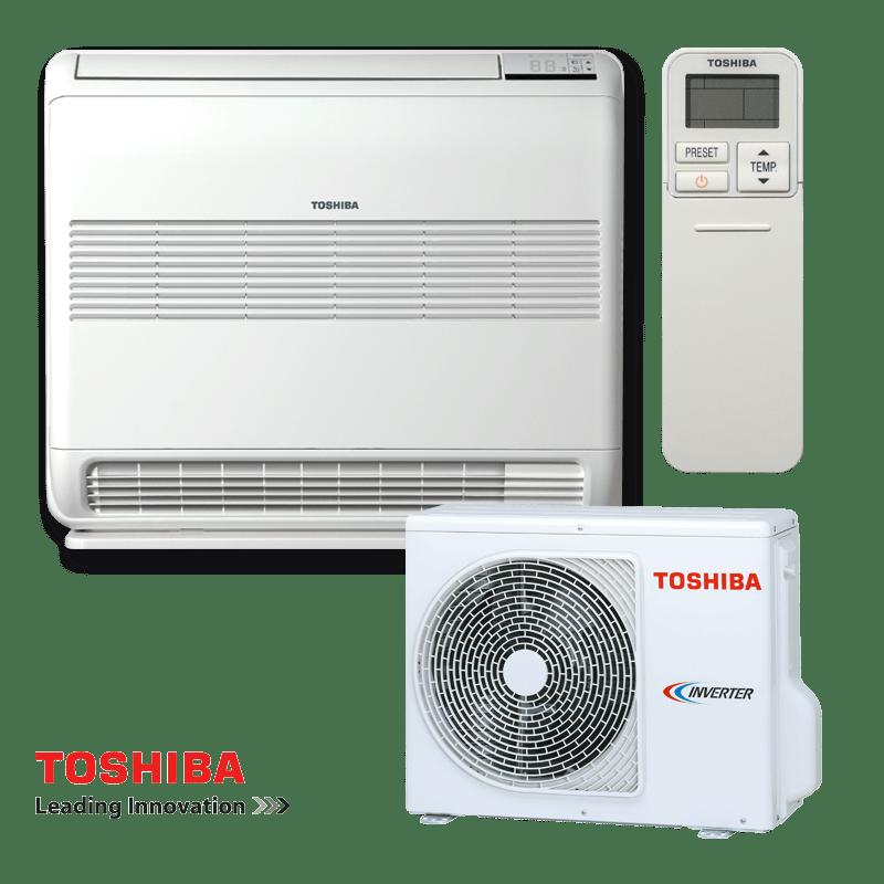 Инверторен климатик Toshiba Bi-flow RAS-B10UFV-E / RAS-10N3AV2-E - подов тип