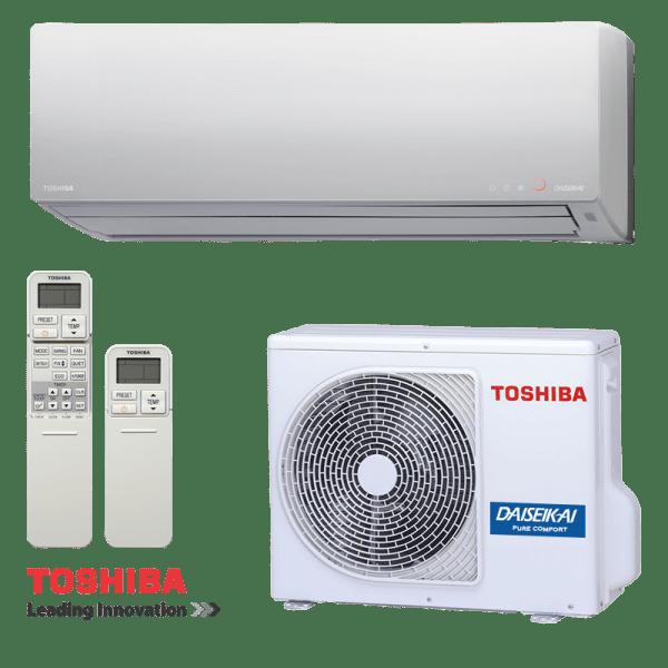 Инверторен климатик Toshiba Super Daiseikai 8 RAS-10G2KVP-E / RAS-10G2AVP-E